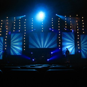 Student Life Camps Video Mapping Setup