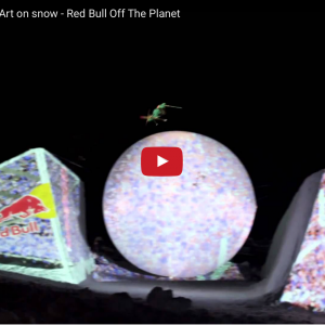 Red Bull's Projection Mapping on Snow