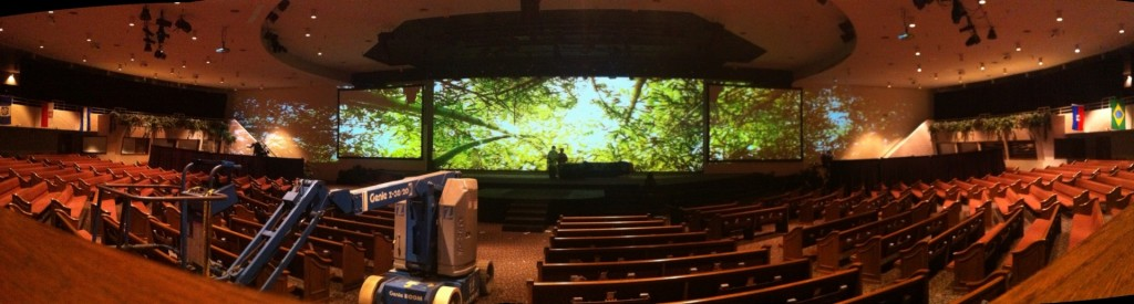 Environmental Projection Setup Picture