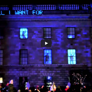 "Architectural Projection – ""Christmas Edition"""