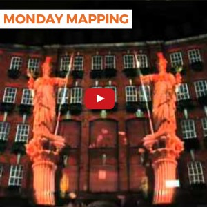 Monday Mapping #2: 3D London Video Projection