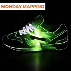 Projection Mapping a New Balance Shoe (#23)