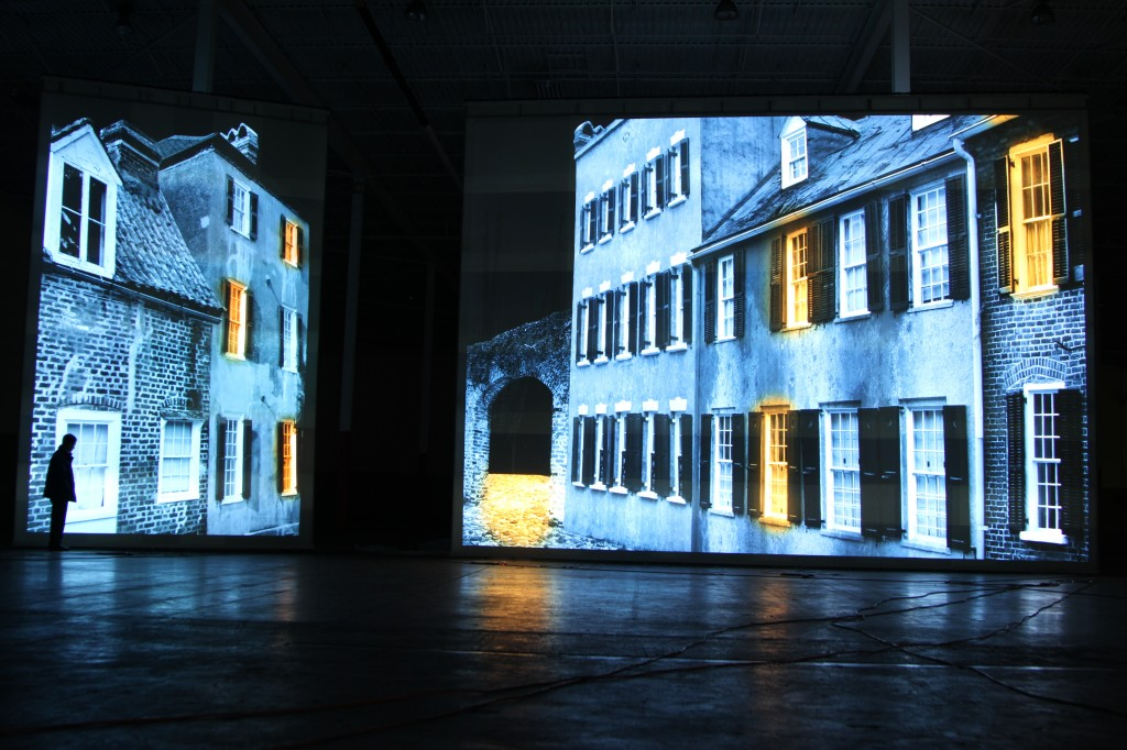 projection as a theatrical or digital backdrop - University of Kentucky