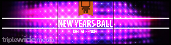 New Years Ball Digital Bundle by Playback Media