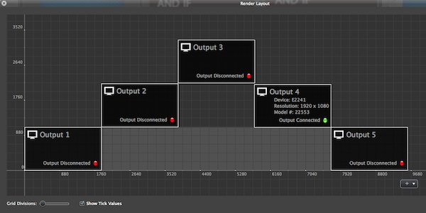 ProVideoPlayer 2 Multiscreen Interface