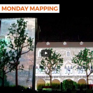 3D building projection mapping by Visualpower – Castle of Tata, Hungary (#61)
