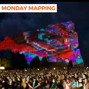 Ghost Pixel Projection Mapping Red Rocks (#61)