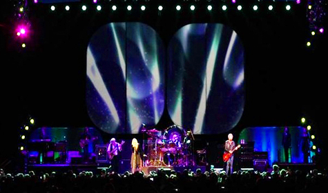 Fleetwood Mac LED Wall single screen