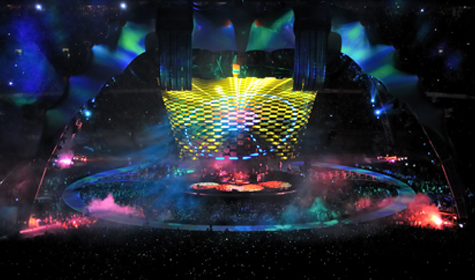 U2 360 content in Double Wide Resolution