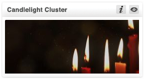 transform christmas-candlelight cluster