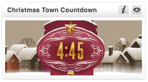 transform christmas-christmas town countdown
