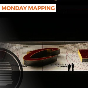 Cleveland Cavaliers 3D Court Projection Mapping (#78)