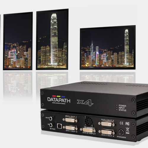 Live Event Tools - Datapath X4 Multiscreen Processor