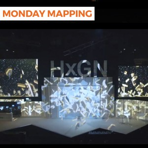Projection Mapping at the MGM Grand Arena (#87)