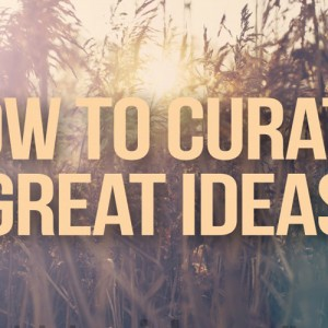 How to Curate Great Ideas