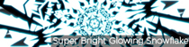 Super Bright Glowing Snowflake | VJ Loops