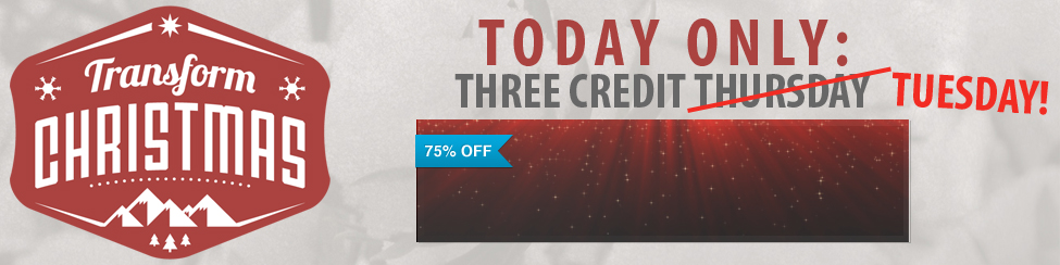 Three Credit Tuesday
