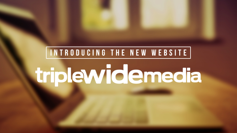 Brand New TripleWide Website
