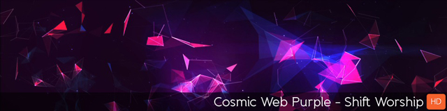 Cosmic Web Purple - TripleWide Media