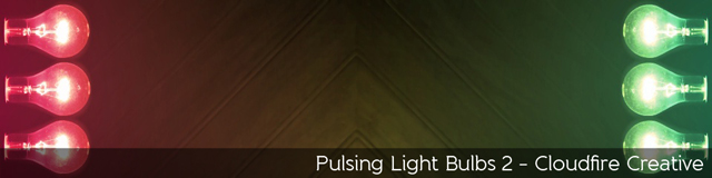 Pulsing Light Bulbs 2 - TripleWide Media