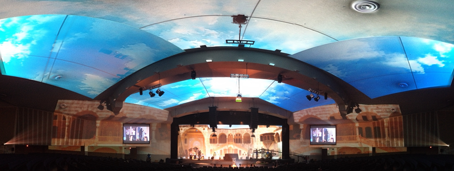 Sky-Projection-Stage-Design
