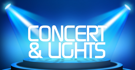 Concert and Lights | TripleWide Media
