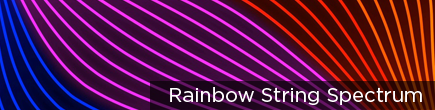 Rainbow String Spectrum by VJ Loops