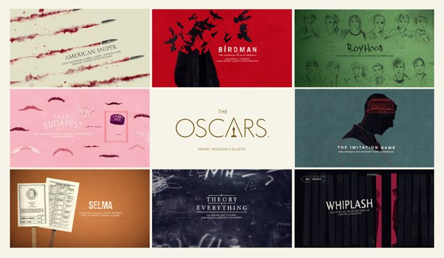 Graphics at the 2015 Oscars