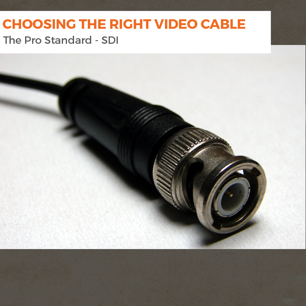 Choosing The Right Video Cable Sdi Triplewide Media Bnc Connector Wiring Diagram