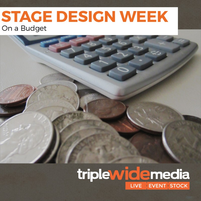 stage design week budget
