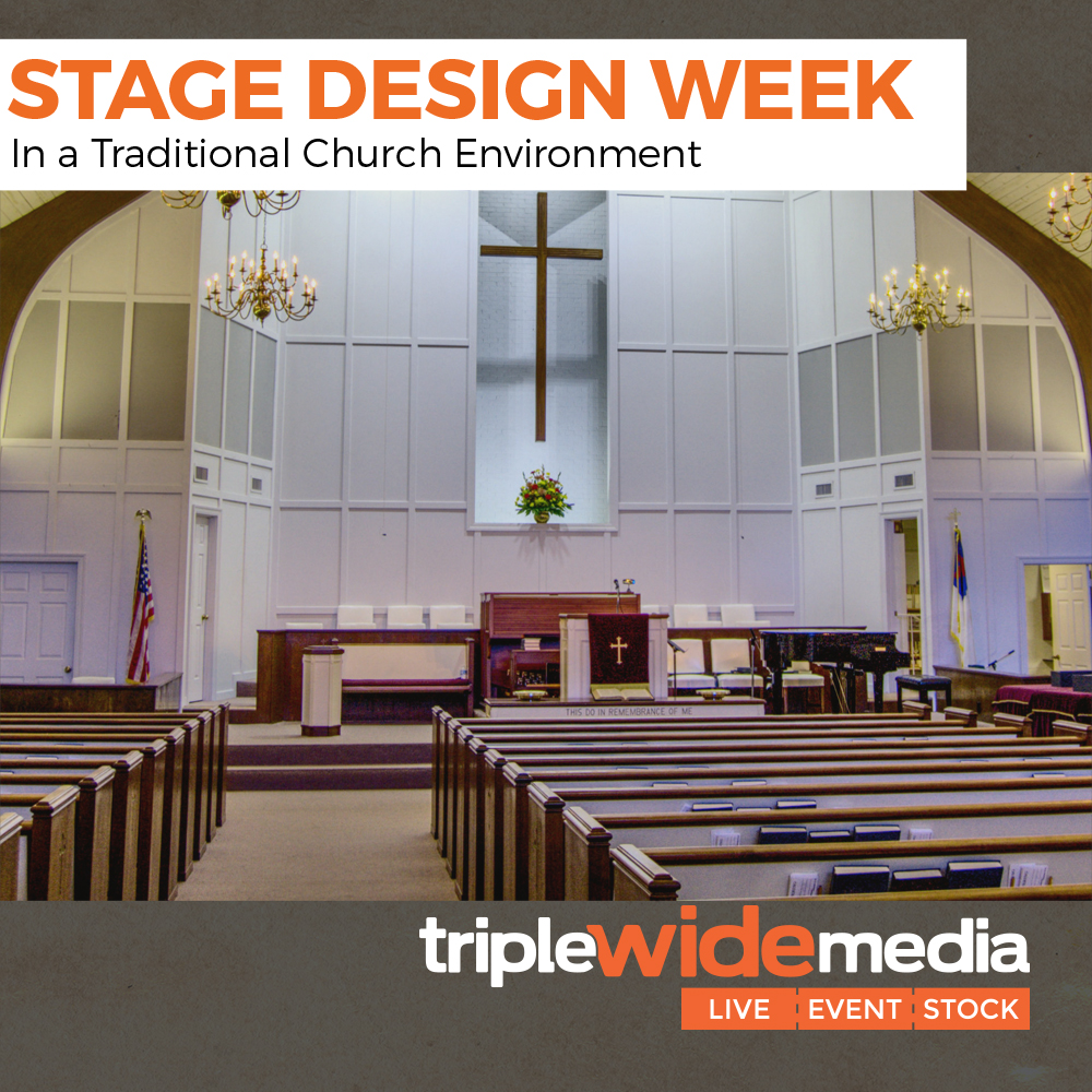 stage design week traditional
