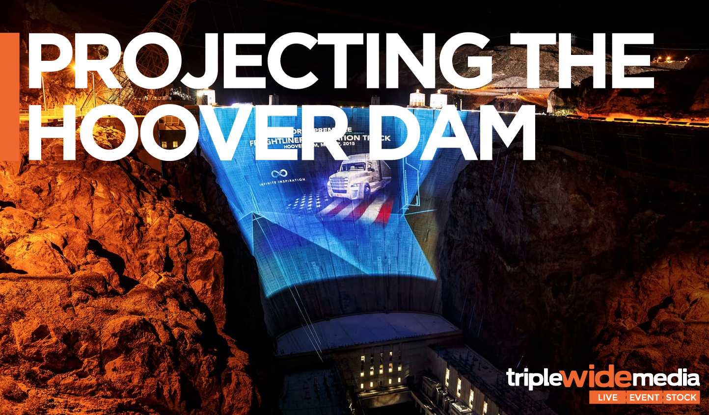 Projecting the Hoover Dam
