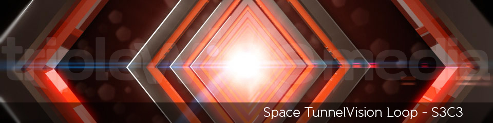 Space TunnelVision Loop - S3C3 | TripleWide Media