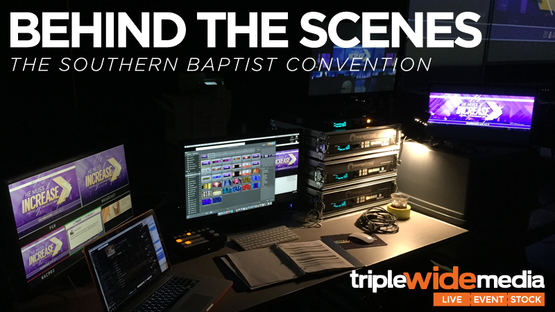 Behind the Scenes of the Southern Baptist Convention | TripleWide media