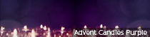 Advent Candles Purple | TripleWide Media