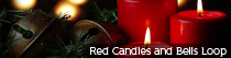 Red Candles and Bells Loop | TripleWide Media