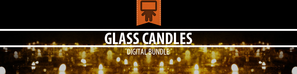 Glass Candles Digital Bundle | TripleWide Media