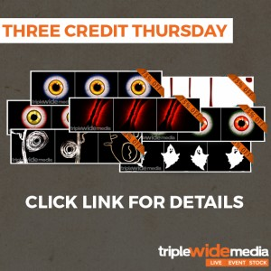 A Halloween Three Credit Thursday