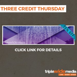 Happy Birthday with a Three Credit Thursday! – Updated