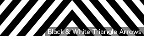 Black & White Triangle Arrows | TripleWide Media