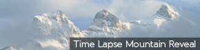 Time Lapse Mountain Reveal | TripleWide Media