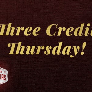 Three Credit Thursday – Visual Media Church