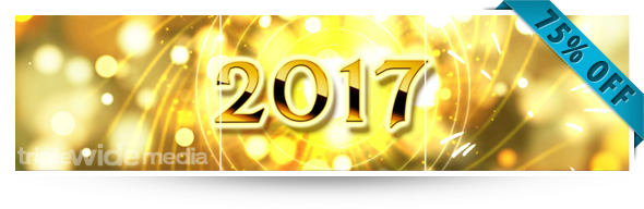 Golden Happy New Year 2017 | TripleWide Media