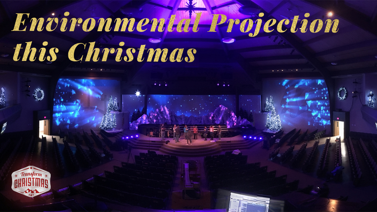 Environmental Projection this Christmas | TripleWide Media
