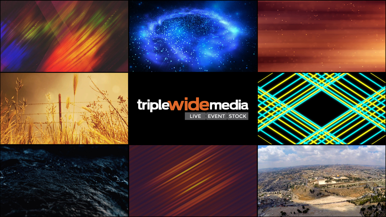 Free Motion Backgrounds - TripleWide Media