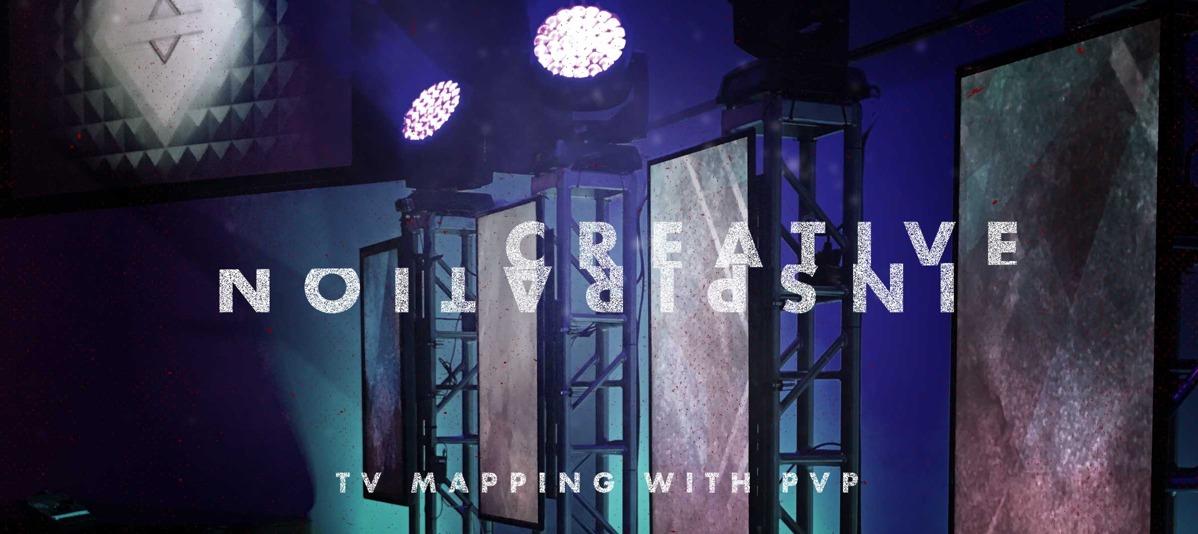 Creative Inspiration Mapping TVs | TripleWide Media