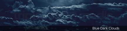 Blue Dark Clouds | TripleWide Media