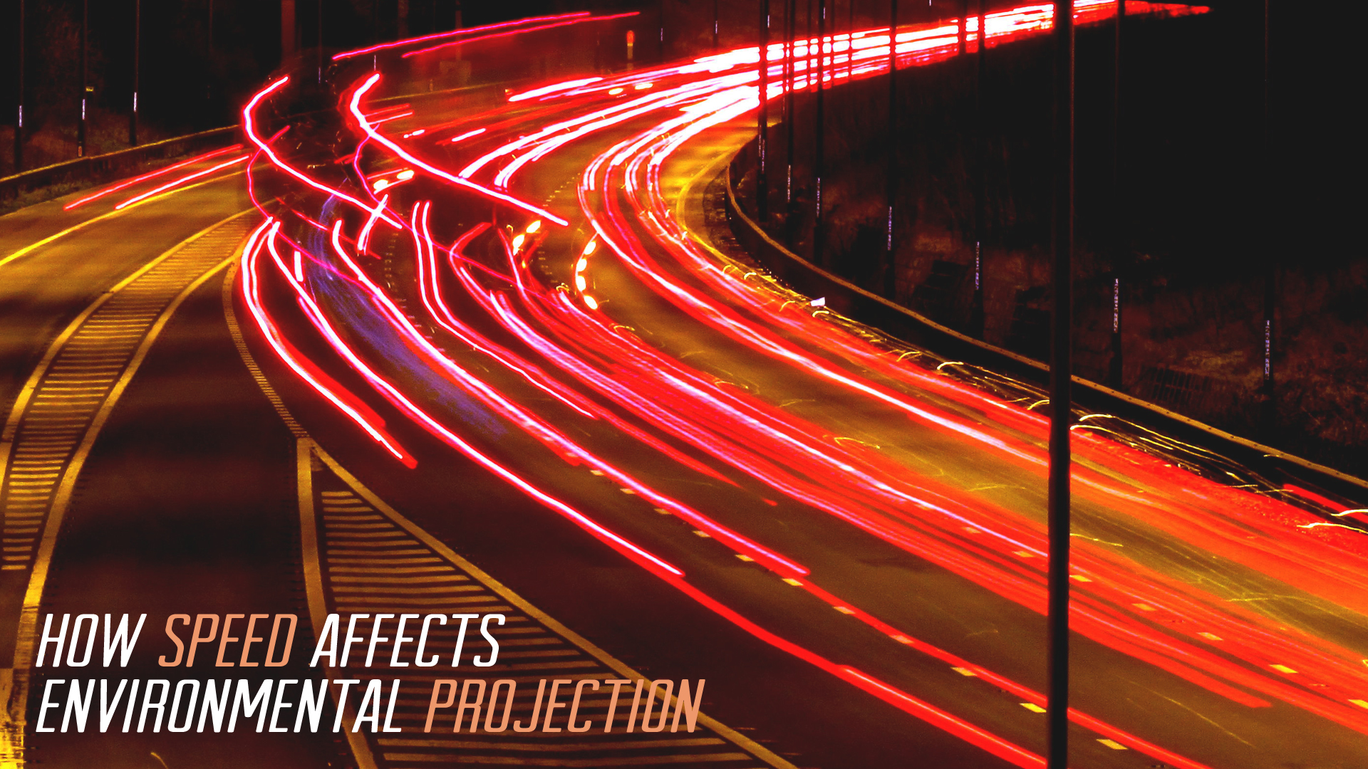 Speed of Your Motions and Environmental Projection | TripleWide Media