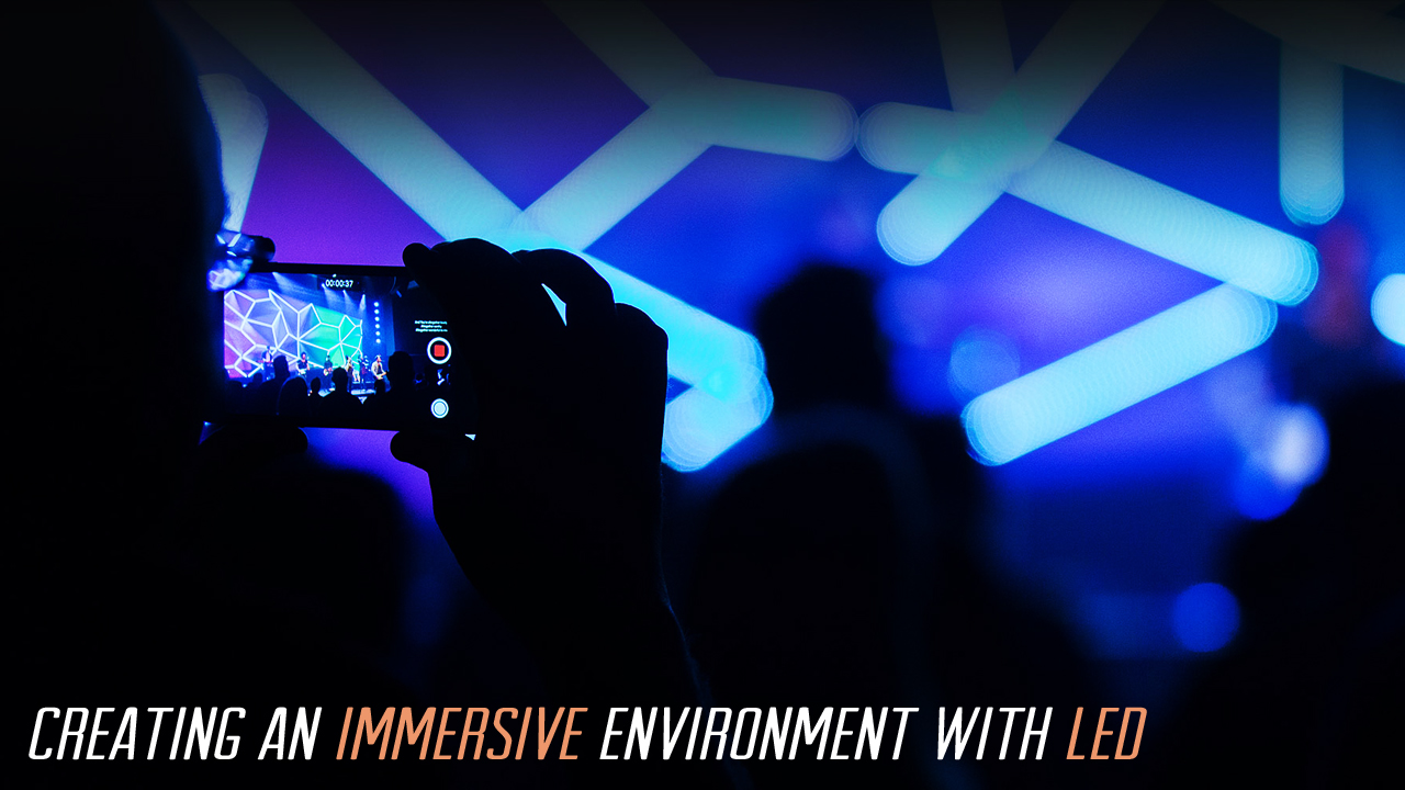Creating an Immersive Environment with LED | TripleWide Media