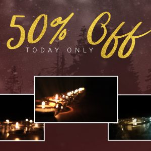 Glass Candles – 50% OFF from Playback Media